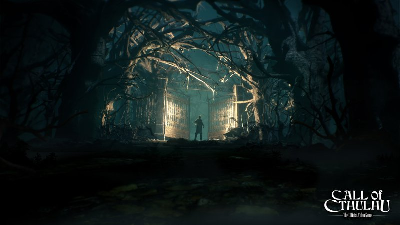 Постер игры Call of Cthulhu 2017