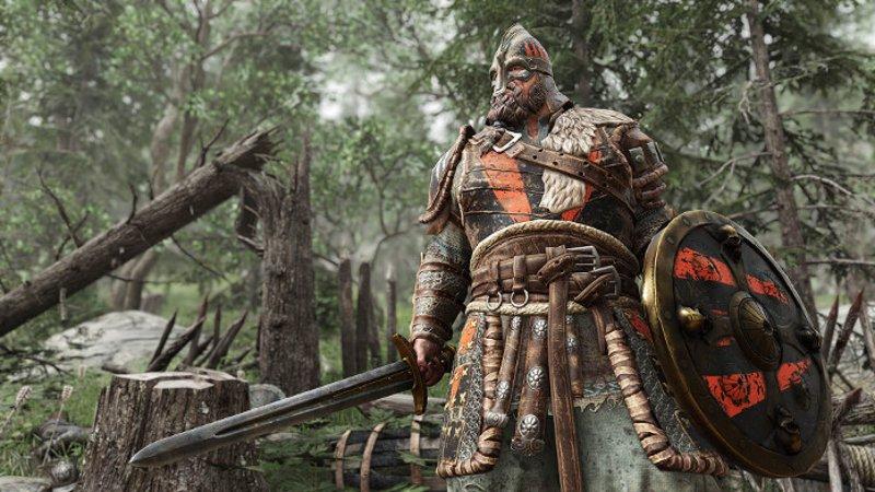 Воин из игры For honnor