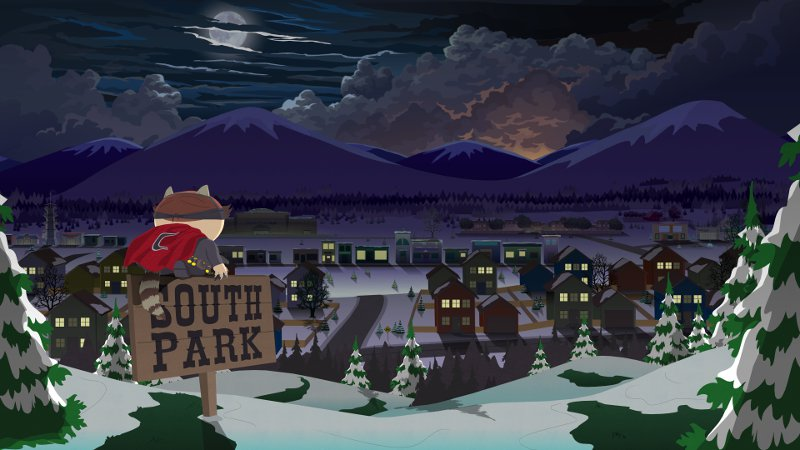 Один из постеров игры South Park: The Fractured But Whole