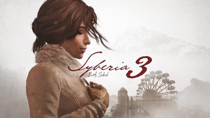 Постер игры Syberia 3 с изображением главной героини