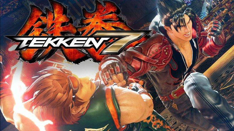 Кадр из tekken 7, сражаются два бойца в одном из самых ожидаемых файтингов 2017 года