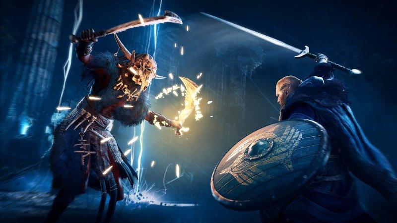 Скриншот босса из игры Assassin's Creed Valhalla