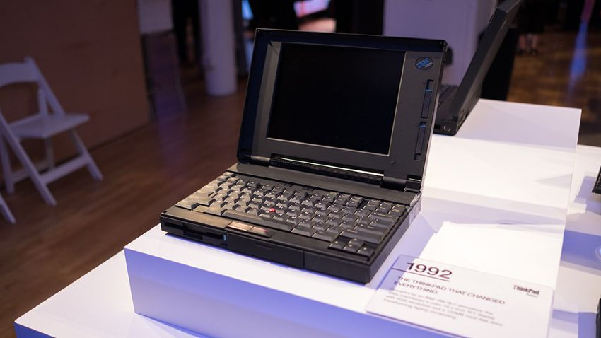 IBM Thinkpad 700C 1992 года в музее