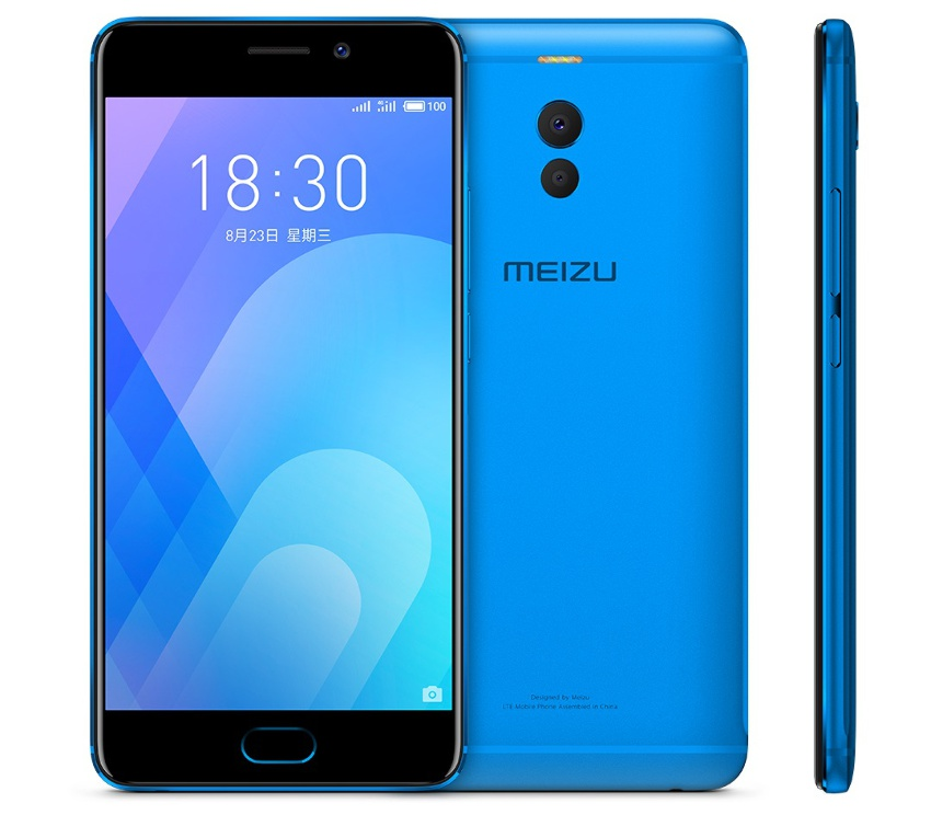 meizu m6 note blue
