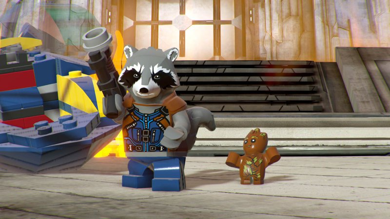 Игра Lego Marvel Super Heroes 2 на двоих для PS4