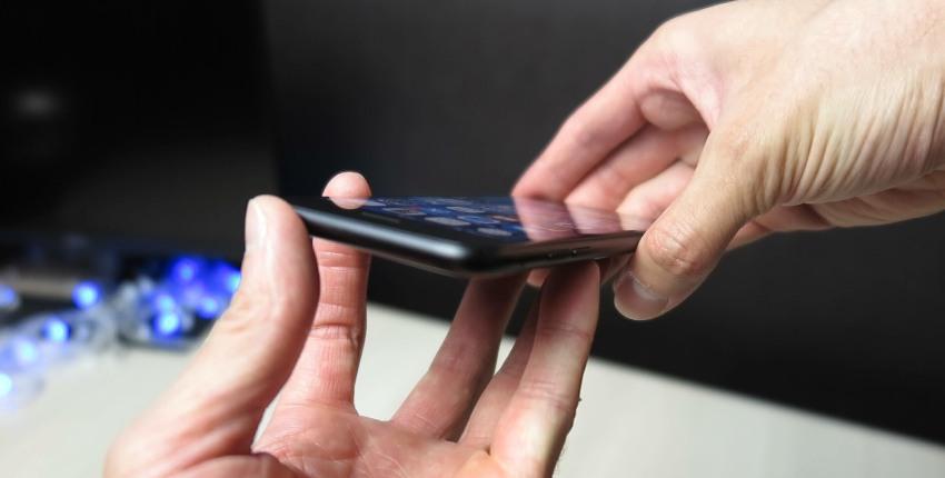 Дисплей iphone 7 вид под углом