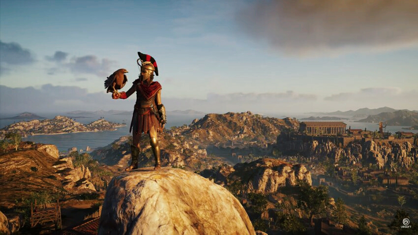 Кадр из игры Assassin's Creed Odyssey