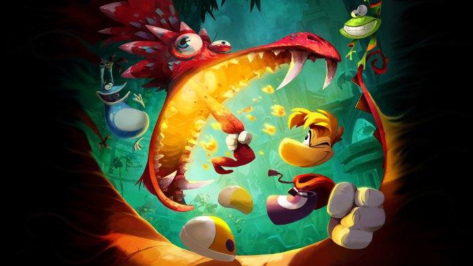 Обложка самой лучшей детской игры - Rayman legends
