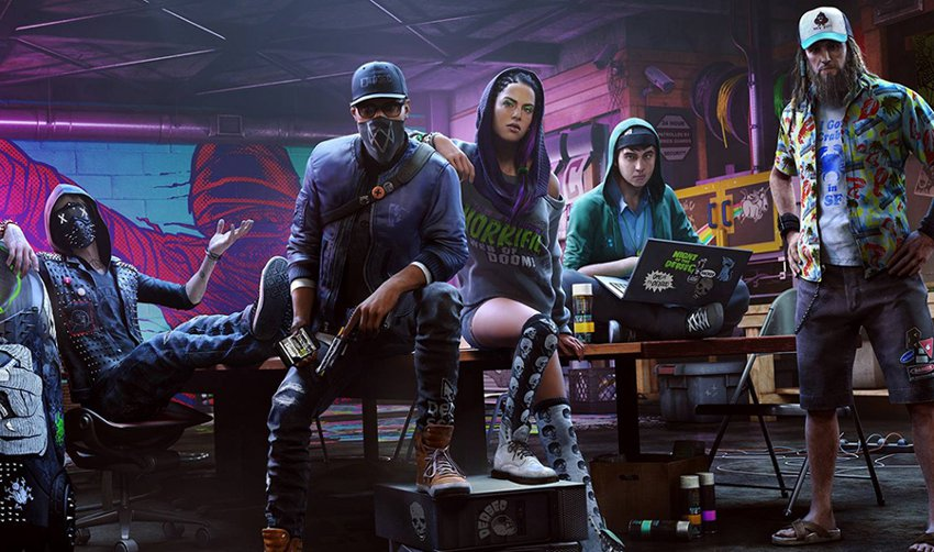 Герои игры Watch Dogs 2