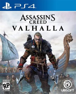 assassin's creed valhalla ps4 cover