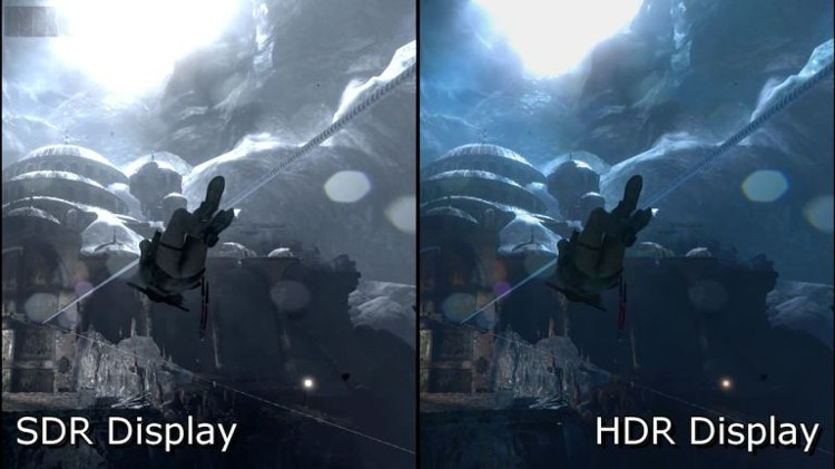 SDR vs HDR в играх