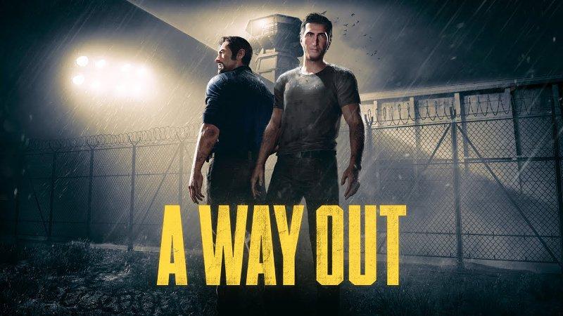 Постер с изображением Лео и Винсента, главных героев игры A Way Out