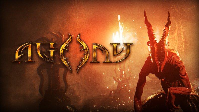 Постер игры Agony