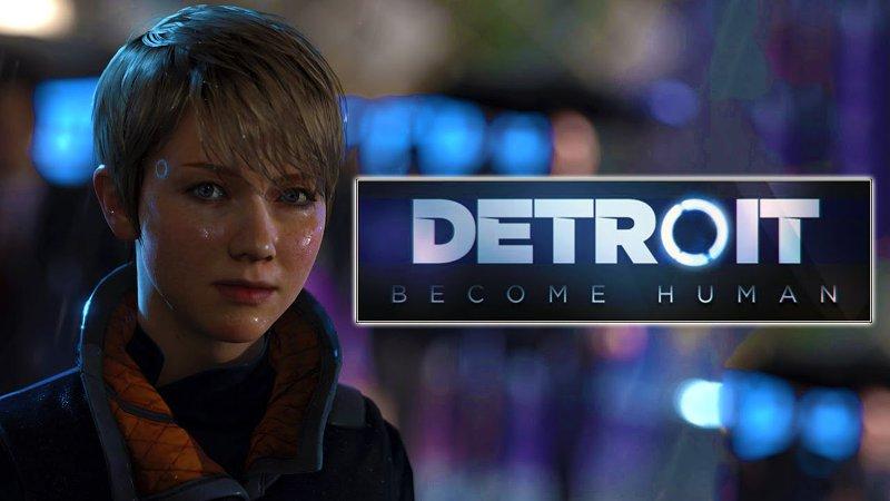 Постер игры Detroit: Become Human, изображена главная героиня