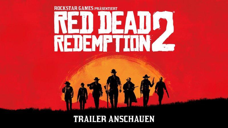 Постер игры Red Dead Redemption 2 - самой ожидаемой игры 2018 года