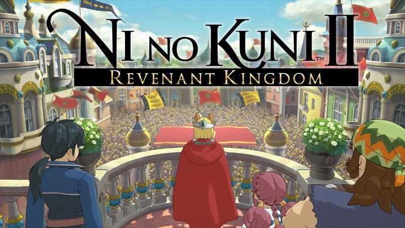Обложка одной из самых ожидаемых игр 2018 года - Ni no Kuni 2: Revenant Kingdom