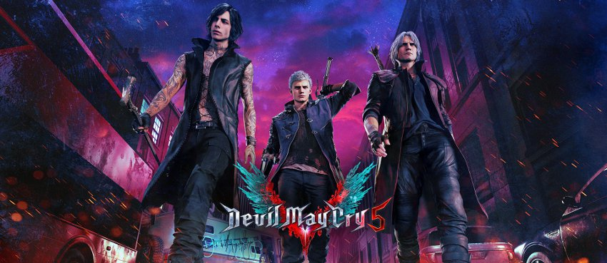 Главные действующие лица игры devil may cry 5