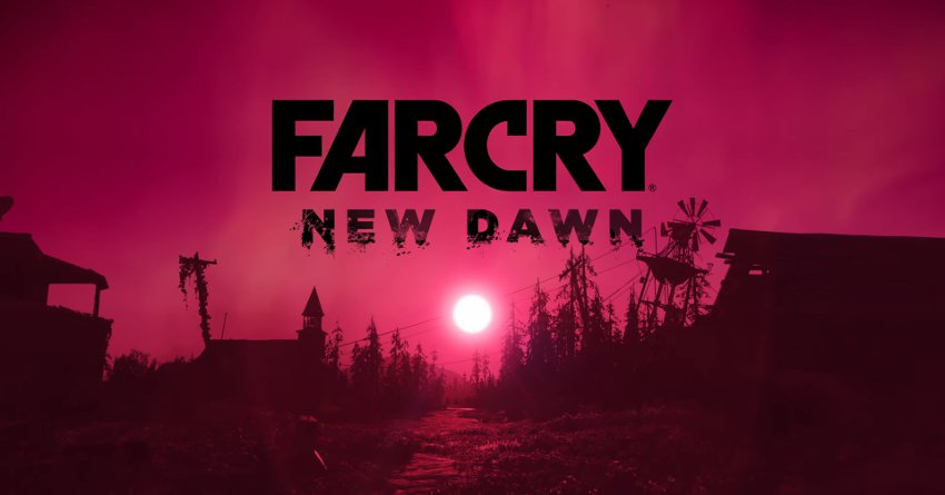 Постер игры far cry new dawn