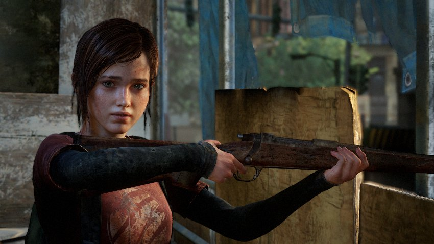 Элли из игры The last of Us