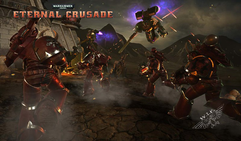 Постер игры Warhammer 40,000: Eternal Crusade