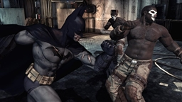 Screenshot from game Batman Arkham Asylum - 1