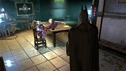 Screenshot from game Batman Arkham Asylum - 3