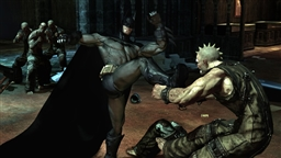 Screenshot from game Batman Arkham Asylum - 4