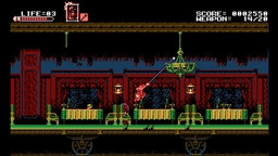 Скриншоты к игре Bloodstained: Curse of the Moon - 2