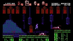 Скриншоты к игре Bloodstained: Curse of the Moon - 5