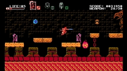 Скриншоты к игре Bloodstained: Curse of the Moon - 6