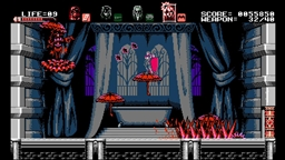 Скриншоты к игре Bloodstained: Curse of the Moon - 4