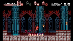 Скриншоты к игре Bloodstained: Curse of the Moon - 1