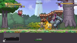 Скриншоты к игре Dragon Marked For Death - 5