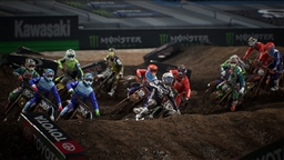Скриншоты к игре Energy Supercross - The Official Videogame 3 - 6