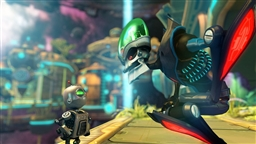 Скриншот игры Ratchet & Clank A Crack in Time - 2